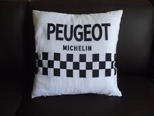 Team Peugeot cycling cushion cover PX10 tom simpson 45 cm x 45 cm