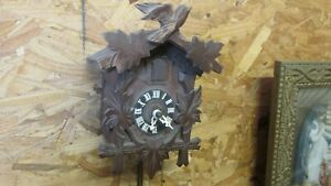 Old Cuckoo Clock Germany Welby co.
