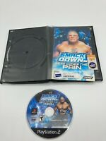 Sony PlayStation 2 PS2 Manual Only Tested WWE Smackdown Here Comes the Pain Ship