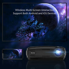LCD+LED 3000:1 WiFi Android 6000 Lumens 3D 1080P Beamer Projektor Excelvan BL-59