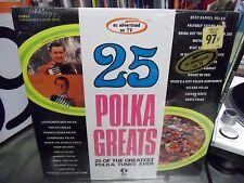 25 Polka Greats vinyl LP 1971 K Tel Records Sealed