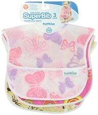 Bumkins SuperBib 3 Pack - themed for Girls, NEW