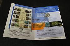 FOLDER OLANDA 2003 VINCENT VAN GOGH CON 5 EURO ARGENTO + MINIFOGLIO - COIN STAMP