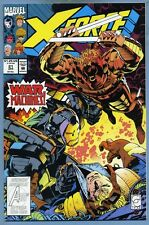 X-Force #21 1993 Greg Capullo Nick Fury War Machine Marvel Comics