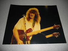 Eddie Van Halen Vintage Live 8x10 Concert Photo #64