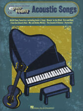 E-Z Play Today Acoustic Songs Keyboard Sheet Music Book Maggie May Freefallin