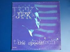 "JFK ‎– The Speech (Vinyl, 12"", MAXI 45 TOURS)"