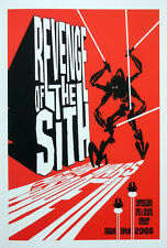 STAR WARS REPRO FILM MOVIE POSTER . REVENGE OF THE SITH GENERAL GRIEVOUS NOT DVD