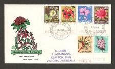 Flowers Australian Decimal Stamp Covers