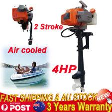 4HP 2 Stroke Marine Petrol Outboard Motor Fishing Boat Engine Kayak Air cooled