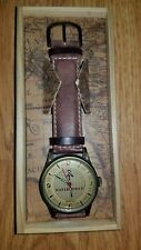 Waterworld Promo Watch, in Wooden Case, New Battery/Perfect Time