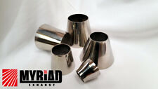 Exhaust Stainless Steel Reducers Cones Joiners Joint Step Link Section Polished