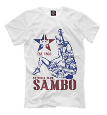 Sambo NEW t-shirt sport fight Sambo Russian team 346238