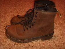 Dr. Martens Air Wair Delaney Brown Boot Kids Size 3 Youth
