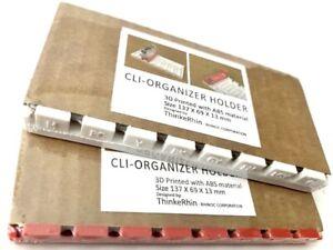 "CLI ORGANIZER HOLDER for CLI 42, CLI 8, BCI 6 ""Orange Cartridge Clip Cover"""