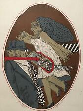 Tres belle lithographie de Antonio segui signé numeroté /250
