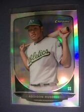 ADDISON RUSSELL 2013 Bowman Chrome Draft Top Prospects Refractors #25 RC A'sCubs