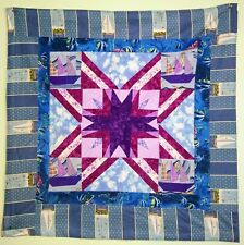 Handmade Quilted Beautiful Table Runner Topper Wall Hanging Mat Stitched 36 x 36