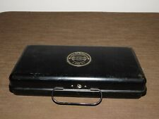 Vintage Utica City National Bank Metal Money Cash Register