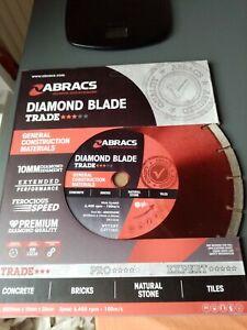 Abracs 300mm x 10mm x 20mm Bore Diamond Blade ABDD30020M