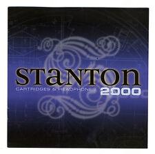 STANTON - 2000 - CATALOGO DE CAPSULAS DJ INGLES ( ORIGINAL CATALOG ) 6fa717194495