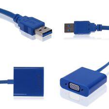 Raccomandata P. - MINI SCHEDA VIDEO ESTERNA Cavo CONVERTITORE DA USB 3.0 A VGA