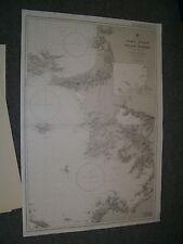 Vintage Admiralty Chart 1546 TURKEY - SAMOS STRAIT to GULLUCK KORFEZI 1975 edn