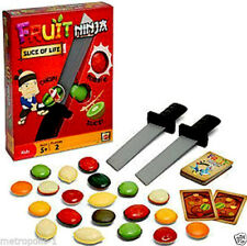 FRUIT NINJA,SLICE OF LIFE GAME SET,WITH SWORDS,FRUITS,BOMBS,MISSION CARDS,5+,NEW