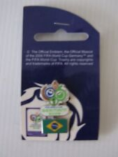 PINS - FIFA WORLD CUP GERMANY 2006 FOOTBALL CALCIO <BRASILE> UFFICIALE
