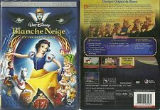 RARE / WALT DISNEY : BLANCHE NEIGE ET LES 7 NAINS EDITION 2 DVD NEUF EMBALLE NEW