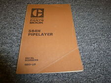 Caterpillar Cat 594H Pipelayer Parts Catalog Manual Book S/N 96V1-Up