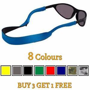 Neoprene Glasses Lanyard Sunglasses Neck Cord Chain Strap Gym Sports UK