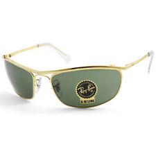 Ray-Ban RB3119 001 Olympian Gold/Green G15 Men's Sport Sunglasses Sizes 59 & 62