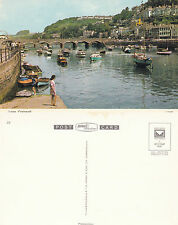 1970's LOOE CORNWALL UNUSED COLOUR POSTCARD