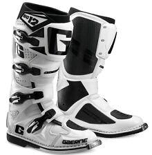GAERNE SG12 MX BOOTS WHITE, SG12 WHITE, MOTOCROSS, ENDURO, TRAIL & OFFROAD BOOTS