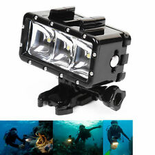 30M Underwater Waterproof Diving Night Video LED Light for GoPro Hero 1 2 3 3+ 4