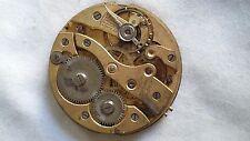 Movement Pocket Watch - 41Mm Diameter - Swiss - For Repair Or Parts -