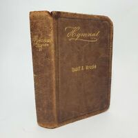 1900 Antique Hymnal Evangelical Church German Hymns Book Chorale Music Education