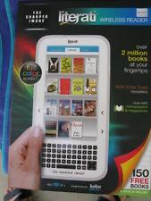 """THE SHARPER IMAGE """"LITERATI """" Wireless E-Reader w/Full Color Screen***BRAND NEW"""