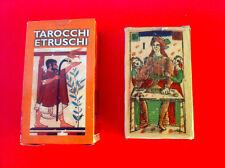 CARTE TAROCCHI ETRUSCHI 78 ARCANI + istruzioni by SILVANA ALASIA T + SACCHETTINO