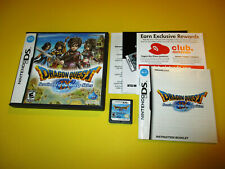 Dragon Quest IX Sentinels of the Starry Skies Nintendo DS w/Case Manual Inserts