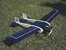 Smuggler Twin Tail Sport Plane Plans, Templates and Instructions 54ws
