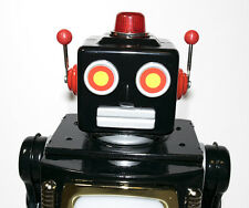 Super-Rare Japanese Tinplate TV ROBOT from Metal House