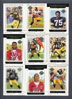 2005 Topps Pittsburgh Steelers TEAM SET Joe Greene