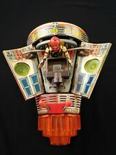 Vintage NASA Astronaut Space Capsule Battery Operated Tin Toy - Made In Japan