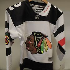 NHL REEBOK Chicago Blackhawks #2 White Hockey Jersey NEW Youth S/M