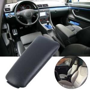 Coperchio Copertura pelle Nero Bracciolo Accessori per Audi A4 B6 B7 2002-2008