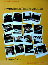 INVITATION A L'IMPROVISATION PIANO-JAZZ PAR ANNICK CHARTREUX