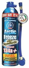 INTERDYNAMICS*AF-22*ARCTIC FREEZE134a*ULTRA SYNETHETIC REFRIG*W/HOSE/GAUGE*22 OZ