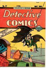 Detective Comics Collectors Edition No. 27 May 1939 Second Printing